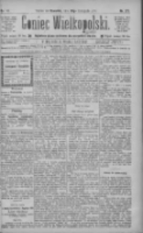 Goniec Wielkopolski: najtańsze pismo codzienne dla wszystkich stanów 1885.11.26 R.9 Nr271