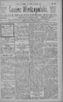 Goniec Wielkopolski: najtańsze pismo codzienne dla wszystkich stanów 1885.11.27 R.9 Nr272