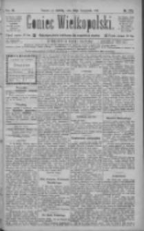 Goniec Wielkopolski: najtańsze pismo codzienne dla wszystkich stanów 1885.11.28 R.9 Nr273