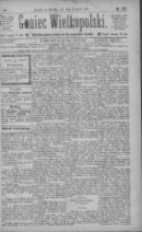 Goniec Wielkopolski: najtańsze pismo codzienne dla wszystkich stanów 1885.12.05 R.9 Nr279