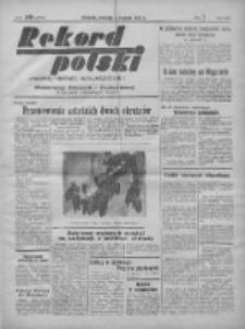 Rekord Polski: dawniej Goniec Wielkopolski: niezależny dziennik ilustrowany 1932.01.03 R.56 Nr3