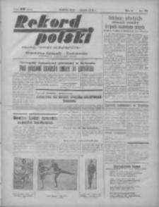 Rekord Polski: dawniej Goniec Wielkopolski: niezależny dziennik ilustrowany 1932.01.06 R.56 Nr6