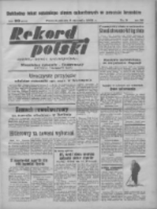 Rekord Polski: dawniej Goniec Wielkopolski: niezależny dziennik ilustrowany 1932.01.09 R.56 Nr9