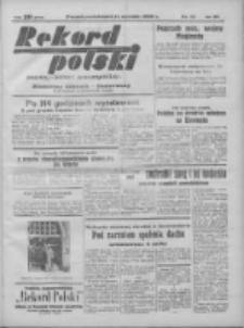 Rekord Polski: dawniej Goniec Wielkopolski: niezależny dziennik ilustrowany 1932.01.11 R.56 Nr11