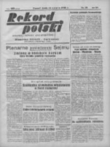 Rekord Polski: dawniej Goniec Wielkopolski: niezależny dziennik ilustrowany 1932.01.13 R.56 Nr13