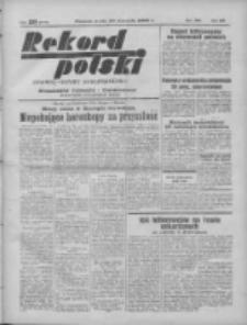 Rekord Polski: dawniej Goniec Wielkopolski: niezależny dziennik ilustrowany 1932.01.20 R.56 Nr20