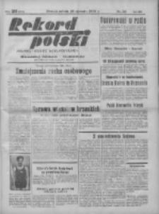 Rekord Polski: dawniej Goniec Wielkopolski: niezależny dziennik ilustrowany 1932.01.23 R.56 Nr23