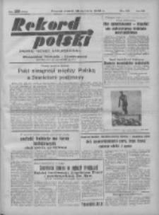 Rekord Polski: dawniej Goniec Wielkopolski: niezależny dziennik ilustrowany 1932.01.26 R.56 Nr26
