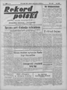 Rekord Polski: dawniej Goniec Wielkopolski: niezależny dziennik ilustrowany 1932.01.30 R.56 Nr30