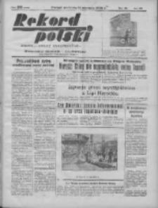 Rekord Polski: dawniej Goniec Wielkopolski: niezależny dziennik ilustrowany 1932.01.31 R.56 Nr31