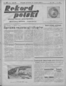 Rekord Polski: dawniej Goniec Wielkopolski: niezależny dziennik ilustrowany 1932.02.11 R.56 Nr39
