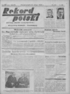 Rekord Polski: dawniej Goniec Wielkopolski: niezależny dziennik ilustrowany 1932.02.12 R.56 Nr40