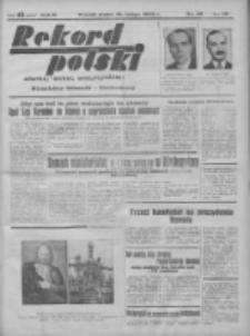 Rekord Polski: dawniej Goniec Wielkopolski: niezależny dziennik ilustrowany 1932.02.19 R.56 Nr46