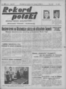 Rekord Polski: dawniej Goniec Wielkopolski: niezależny dziennik ilustrowany 1932.02.21 R.56 Nr48