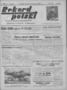 Rekord Polski: dawniej Goniec Wielkopolski: niezależny dziennik ilustrowany 1932.02.22 R.56 Nr49