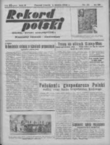 Rekord Polski: dawniej Goniec Wielkopolski: niezależny dziennik ilustrowany 1932.03.01 R.56 Nr55