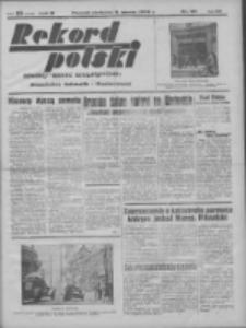 Rekord Polski: dawniej Goniec Wielkopolski: niezależny dziennik ilustrowany 1932.03.06 R.56 Nr60