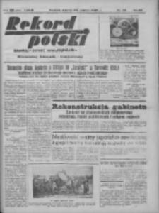 Rekord Polski: dawniej Goniec Wielkopolski: niezależny dziennik ilustrowany 1932.03.22 R.56 Nr73
