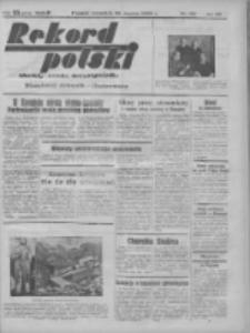 Rekord Polski: dawniej Goniec Wielkopolski: niezależny dziennik ilustrowany 1932.03.31 R.56 Nr80