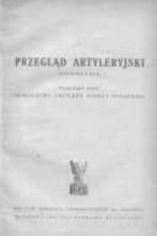 Przegląd Artyleryjski: miesięcznik wydawany przez Dowództwo Artylerii Wojska Polskiego 1945 listopad/grudzień R.23 Z.3/4