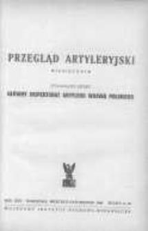 Przegląd Artyleryjski: miesięcznik wydawany przez Główny Inspektorat Artylerii Wojska Polskiego 1946 wrzesień/październik R.24 Z.9/10