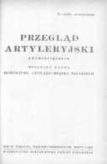 Przegląd Artyleryjski: dwumiesięcznik wydawany przez Dowództwo Artylerii Wojska Polskiego 1951 wrzesień/październik R.29 Z.5