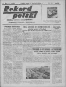 Rekord Polski: dawniej Goniec Wielkopolski: niezależny dziennik ilustrowany 1932.04.13 R.56 Nr91