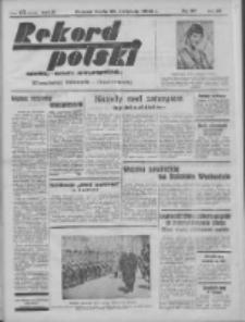 Rekord Polski: dawniej Goniec Wielkopolski: niezależny dziennik ilustrowany 1932.04.20 R.56 Nr97