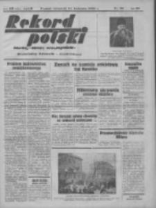Rekord Polski: dawniej Goniec Wielkopolski: niezależny dziennik ilustrowany 1932.04.21 R.56 Nr98