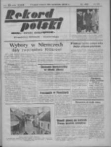 Rekord Polski: dawniej Goniec Wielkopolski: niezależny dziennik ilustrowany 1932.04.26 R.56 Nr102