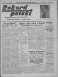 Rekord Polski: dawniej Goniec Wielkopolski: niezależny dziennik ilustrowany 1932.04.27 R.56 Nr103