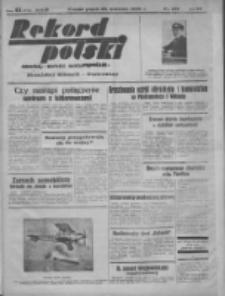 Rekord Polski: dawniej Goniec Wielkopolski: niezależny dziennik ilustrowany 1932.04.29 R.56 Nr105