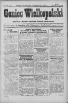 Goniec Wielkopolski: najstarszy i najtańszy niezależny dziennik demokratyczny 1932.10.13 R.56 Nr116