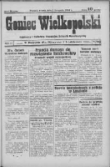Goniec Wielkopolski: najstarszy i najtańszy niezależny dziennik demokratyczny 1932.11.01 R.56 Nr132