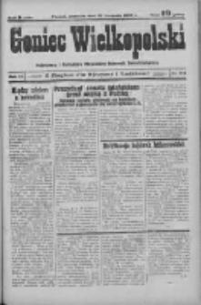 Goniec Wielkopolski: najstarszy i najtańszy niezależny dziennik demokratyczny 1932.11.27 R.56 Nr154