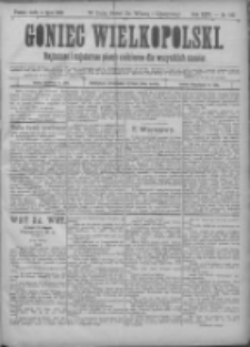 Goniec Wielkopolski: najtańsze pismo codzienne dla wszystkich stanów 1900.07.04 R.24