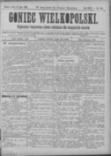 Goniec Wielkopolski: najtańsze pismo codzienne dla wszystkich stanów 1900.07.21 R.24 Nr164