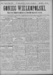 Goniec Wielkopolski: najtańsze pismo codzienne dla wszystkich stanów 1900.07.22 R.24 Nr165