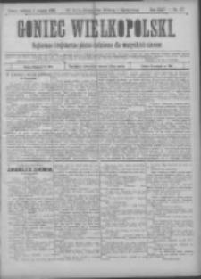 Goniec Wielkopolski: najtańsze pismo codzienne dla wszystkich stanów 1900.08.05 R.24 Nr177