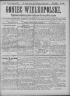 Goniec Wielkopolski: najtańsze pismo codzienne dla wszystkich stanów 1900.08.11 R.24 Nr182
