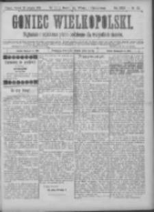 Goniec Wielkopolski: najtańsze pismo codzienne dla wszystkich stanów 1900.08.28 R.24 Nr195