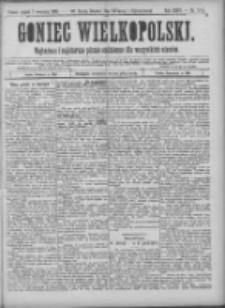 Goniec Wielkopolski: najtańsze pismo codzienne dla wszystkich stanów 1900.09.07 R.24 Nr204