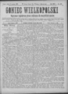 Goniec Wielkopolski: najtańsze pismo codzienne dla wszystkich stanów 1900.09.13 R.24 Nr207
