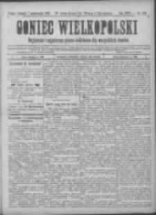 Goniec Wielkopolski: najtańsze pismo codzienne dla wszystkich stanów 1900.10.07 R.24 Nr229