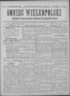 Goniec Wielkopolski: najtańsze pismo codzienne dla wszystkich stanów 1900.10.10 R.24 Nr231