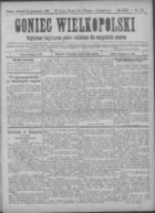 Goniec Wielkopolski: najtańsze pismo codzienne dla wszystkich stanów 1900.10.18 R.24 Nr238