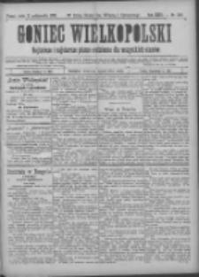 Goniec Wielkopolski: najtańsze pismo codzienne dla wszystkich stanów 1900.10.31 R.24 Nr249