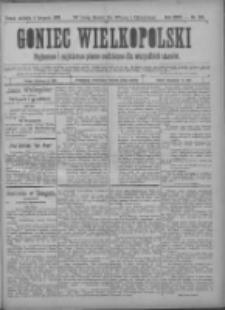 Goniec Wielkopolski: najtańsze pismo codzienne dla wszystkich stanów 1900.11.04 R.24 Nr252