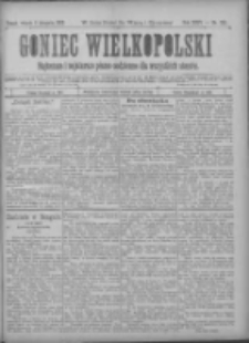 Goniec Wielkopolski: najtańsze pismo codzienne dla wszystkich stanów 1900.11.06 R.24 Nr253