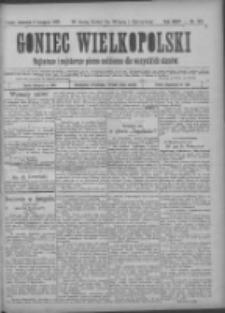 Goniec Wielkopolski: najtańsze pismo codzienne dla wszystkich stanów 1900.11.08 R.24 Nr255